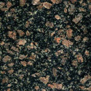 Текстура серо-коричневого Корнинского гранита Leopard