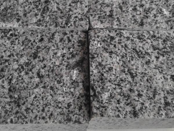 Бруківка гранітна Покостівська пиляно-колота розміром 10х10х5 см (4 камені)