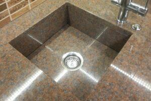 Кухонна мийка з Кишинського граніту