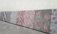 Примеры мозаичной укладки пиленой гранитной брусчатки