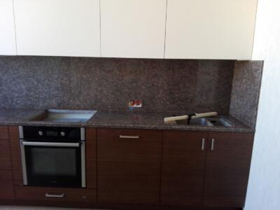 Столешница для кухни из гранита Star of Ukraine (правая сторона)