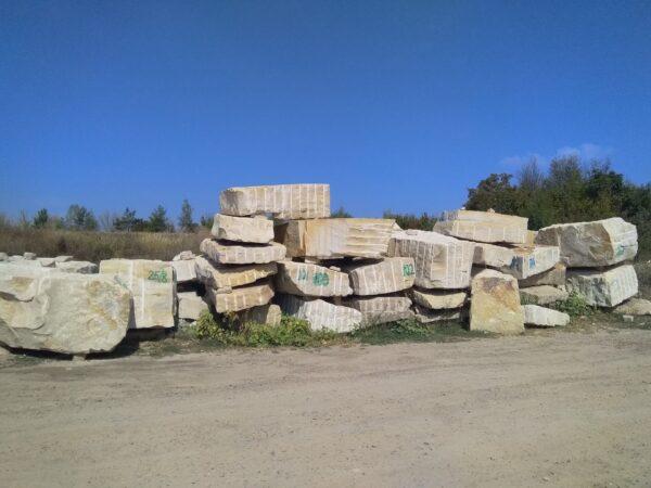Ямпольский песчаник – блоки