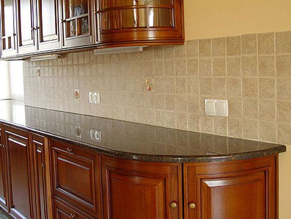 Кухонна стільниця з граніту Brown Skif