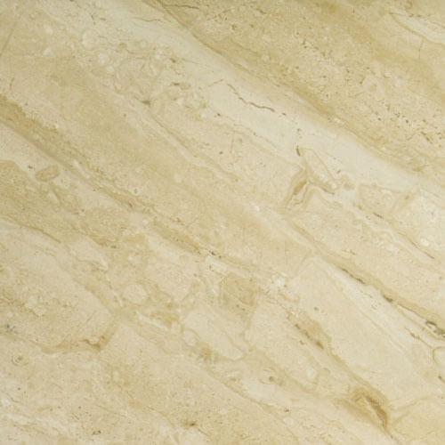 Daino Reale — мрамор кремового цвета крупным планом