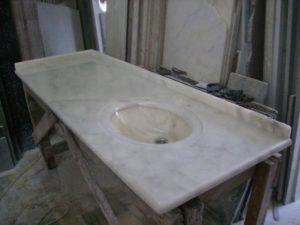 Столешница из Турецкого камня — Milas Pearl