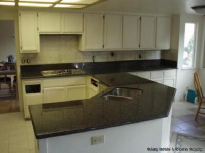 Кухонная столешница из Габбро в интерьере