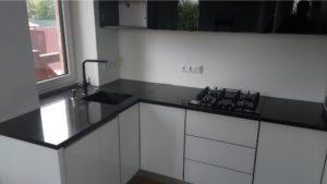 Кухонна стільниця з граніту Габбро