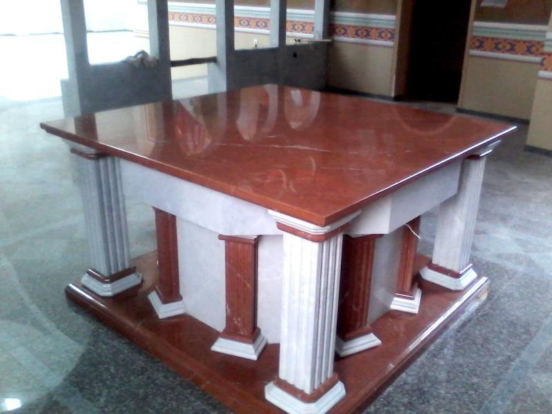 Материал: мрамор. Церковный престол из мрамора