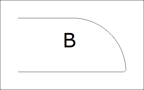 фаска B