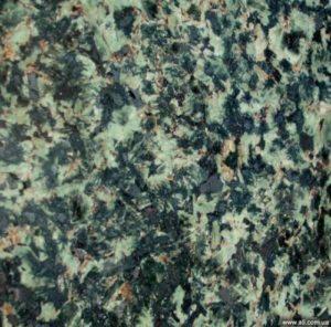 Текстура зелёного Луковецкого гранита