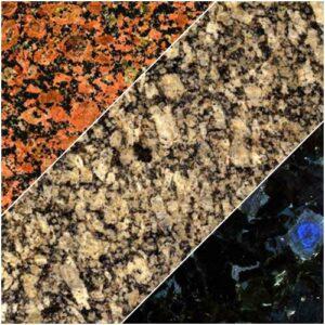 Зразки граніту для виробництва стільниці з граніту