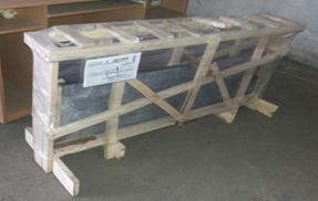 Упаковка гранитной столешницы GRANEX