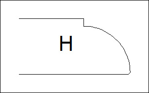 фаска H