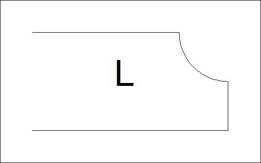 фаска L