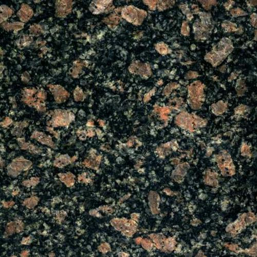 Текстура серо-коричневого гранита Leopard