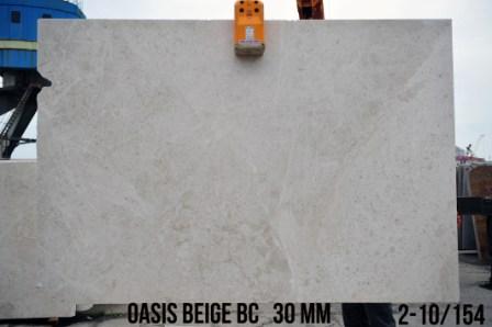 Сляб з мармуру Oasis Beige BC (30 мм)