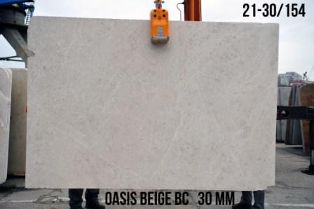 Сляб из мрамора Oasis Beige BC (30 мм)