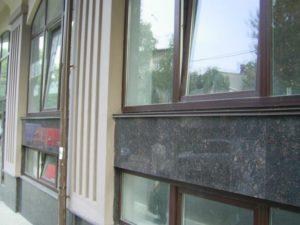Гранитный фасад Львов