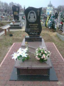 Гранітний пам'ятник - Львів