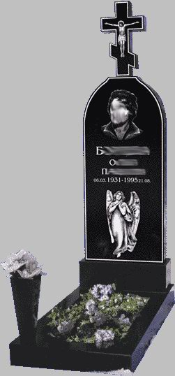 Гранітний пам'ятник О-12