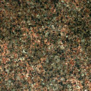 Текстура зелёно-коричневого Васильевского гранита
