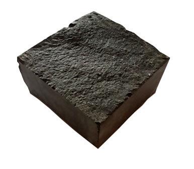 Пиляно-колота базальтова бруківка 10x10x5 (з колотим верхом)