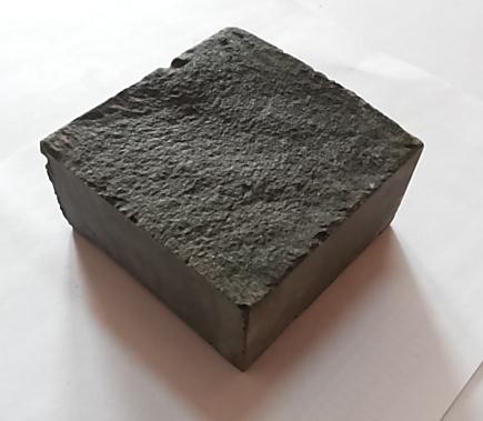 Пилено-колотая базальтовая брусчатка (1 камень)