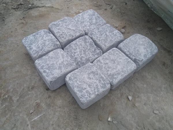 Галтованная брусчатка Габбро 10x10x5 см