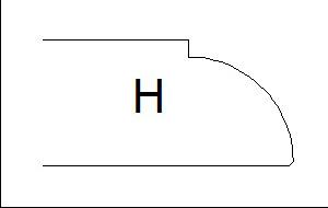 Фаска H (Н)