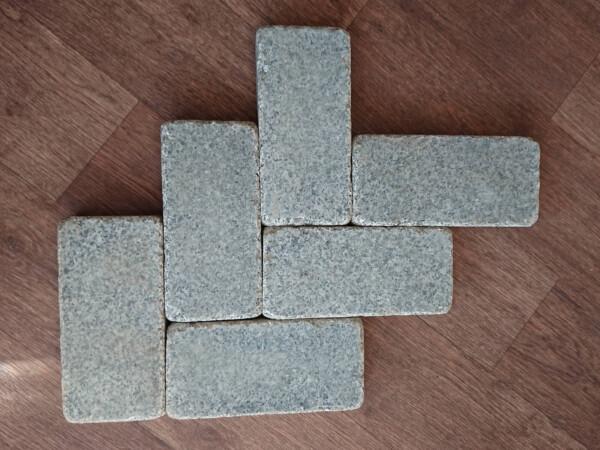 Брусчатка галтованная Grey Ukraine 25х12х5 см