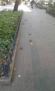 Пиленая гранитная брусчатка в Одессе