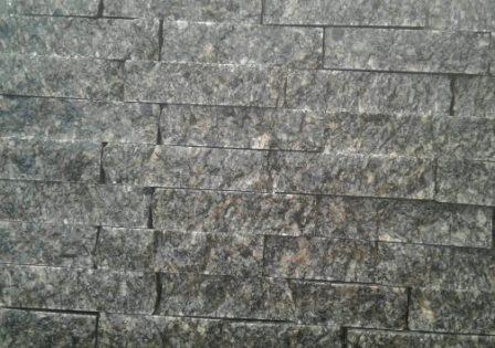 гранитная колотая плитка-соломка серая 3 см Grey Ukraine. Одесса