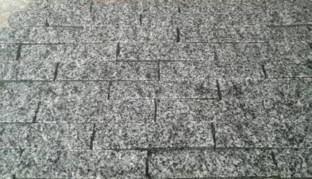 гранитная плитка-соломка Grey Ukraine. Одесса