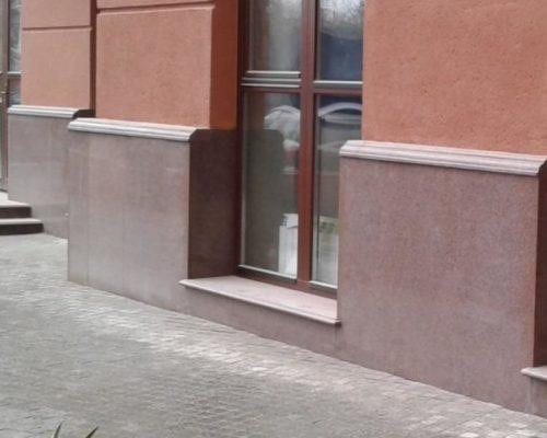 Фасад з граніту. Одеса