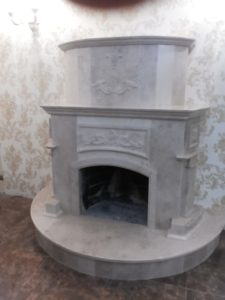 Каміни з мармуру у Львові - стильний кусочок твого житла