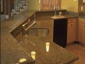 Кухонная столешница из гранита Withered