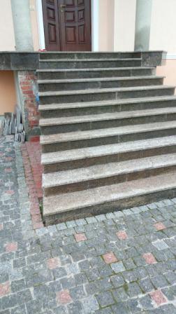 Лестница из Софиевского гранита