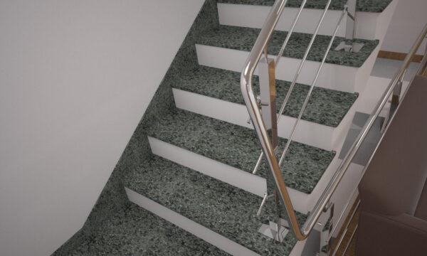 Плинтус для лестницы из Гацковского гранита