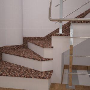 Чобіток для сходів з Крупського граніту