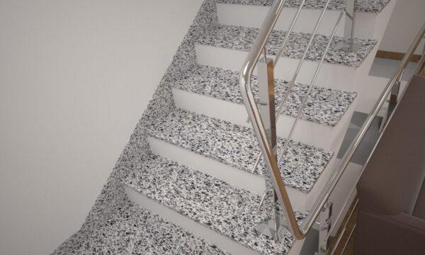 Плінтус для сходів з Покостівського граніту