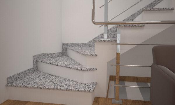 Чобіток для сходів з Покостівського граніту