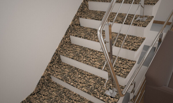 Плинтус для лестницы из Софиевского гранита