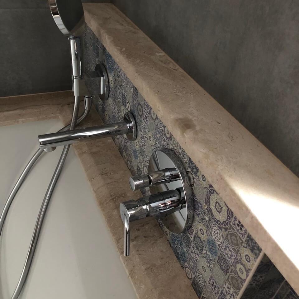 Мармур Daino Reale на ванні