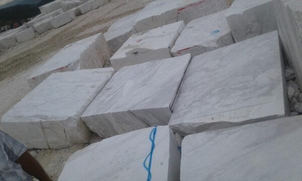 Мраморные блоки Волокас