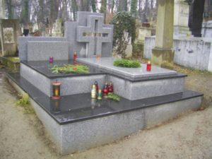Гранитный памятник - Львов