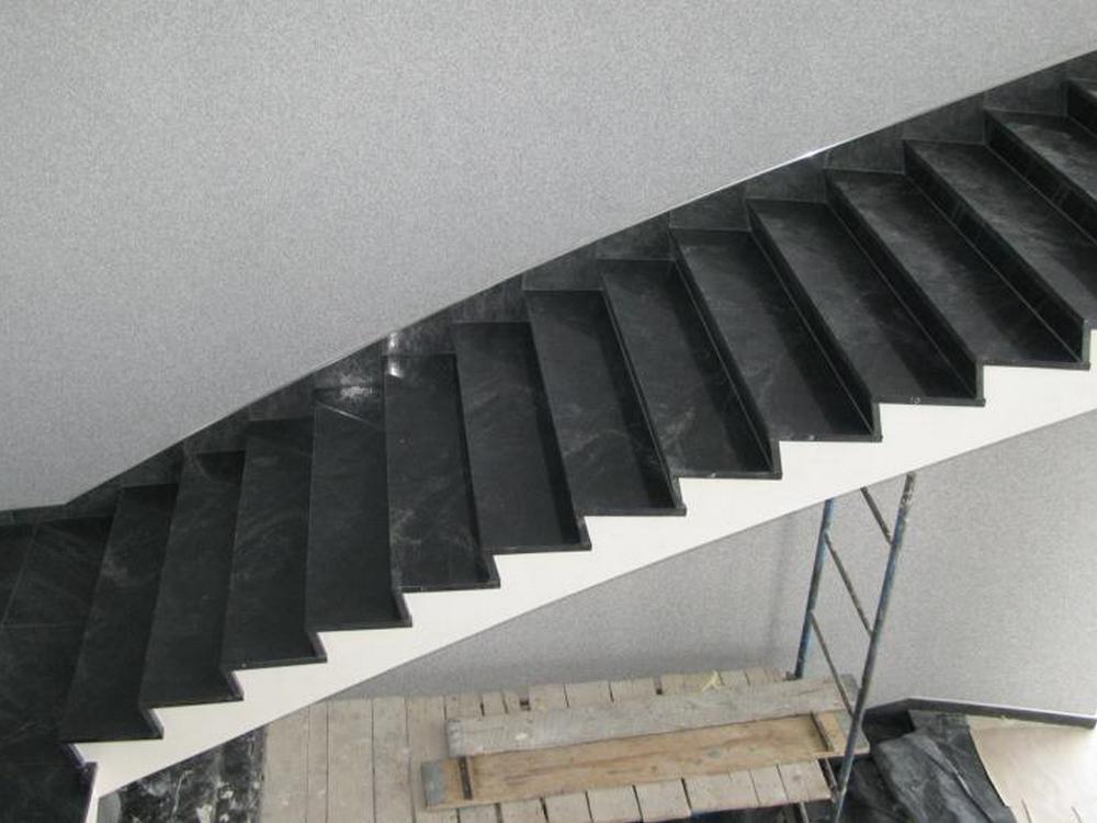 Расчёт лестницы - доставка гранитных или мраморных ступеней