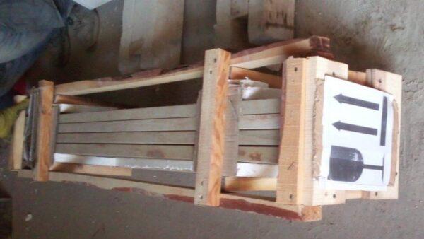 Упаковка каменных подоконников