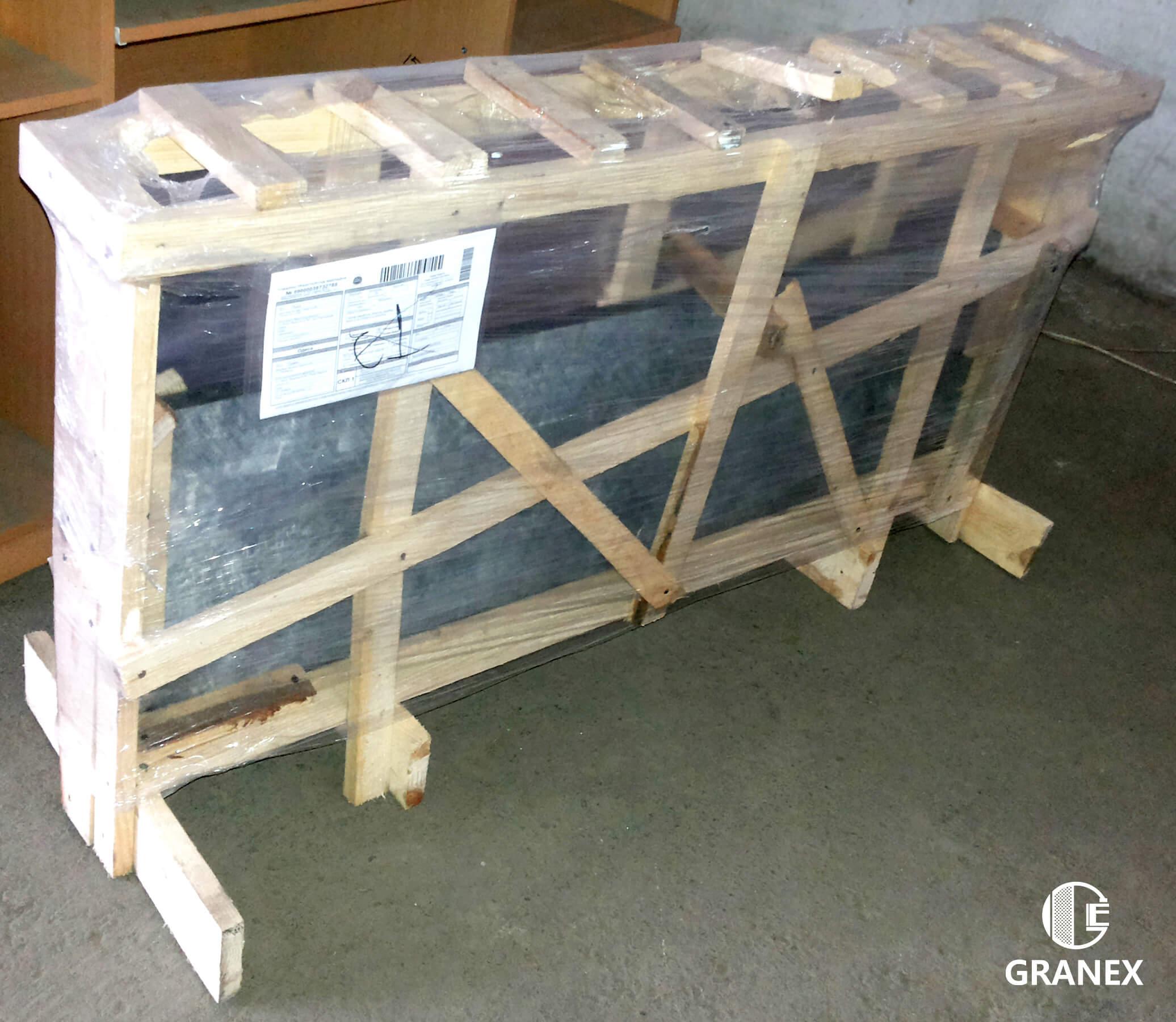 пакування стільниці з граніту